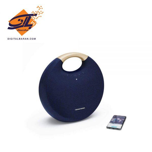 اسپیکر بلوتوثی قابل حمل هارمن کاردن مدل Onyx Studio 6