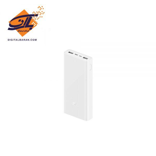 پاوربانک شارژ سریع شیائومی Xiaomi PLM18ZM Mi Power Bank 3 20000mAh