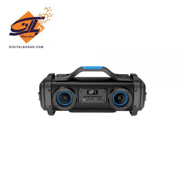 Porodo PD-PRTSPK-BK Soundtec Pure Bass Portable Wireless Speaker