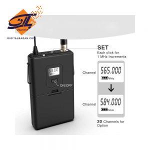 میکروفون بی سیم فای فاین مدل k037b