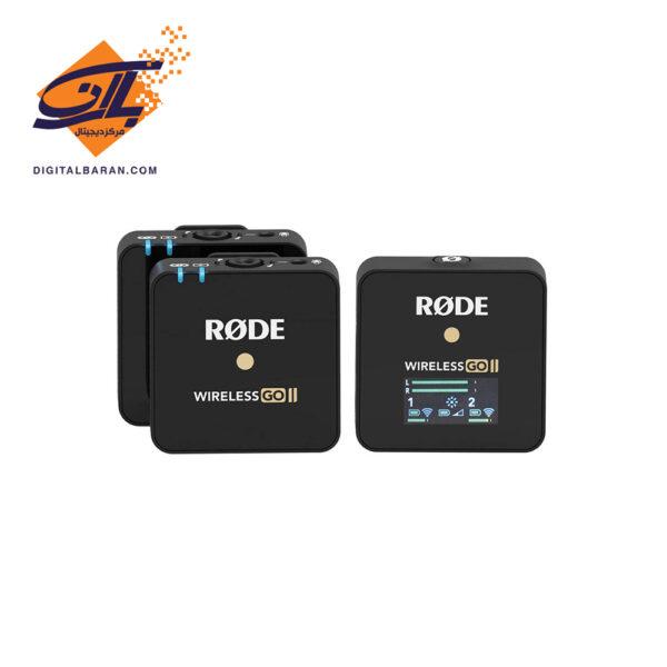 ست میکروفن بی سیم رود مدل Wireless GO II